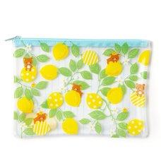 A Basketful of Lemons Rilakkuma Clear Soft B6 Case
