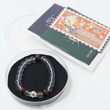Silver Nyanko Juzu Bracelet