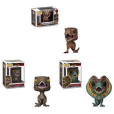 Pop! Movies: Jurassic Park - Dinosaurs Set