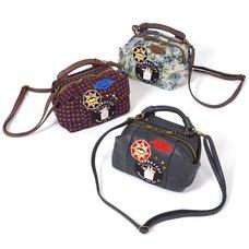 FLAPPER Ladies Wappen Shoulder Bag