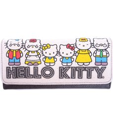 Hello Kitty 40th Anniversary Canvas Wallet