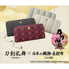 Touken Ranbu -Online- Japanese Fabric Long Wallet Collection