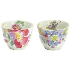 Hana Misaki Mino Ware Teacup