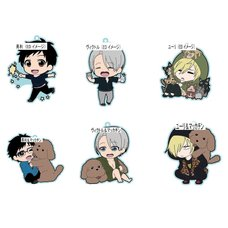 Yuri!!! on Ice Rubber Straps