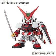 SD EX-Standard Gundam Astray Red Frame Gundam Seed Model Kit