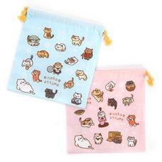 Neko Atsume Drawstring Bag 3