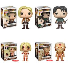 Pop! Animation: Attack on Titan - Complete Set