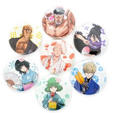One-Punch Man Autumn Festival 2016 Pin Badge Collection