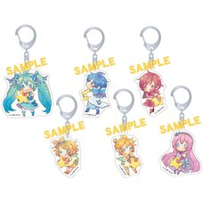 Vocaloid Acrylic Keychain Collection: Tsuyuhana Ver.