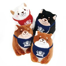 Chuken Mochi Shiba Plump Sitting Plush Collection