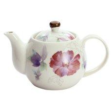 Hana Tsumi Mino Ware Azalea Teapot