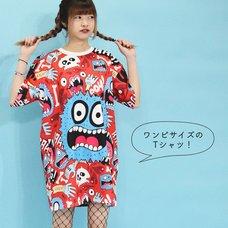 ACDC RAG Monster T-Shirt Dress