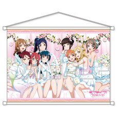 Love Live! Sunshine!! Thank You Friends!! B2-Size Double Suede Tapestry