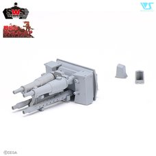 Super Weapon Series Valkyria Chronicles Machine Gun 1/35 Scale Set