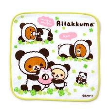 Rilakkuma Panda de Goron Petite Towels