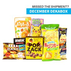 December 2016 Dekabox (Snacks Only)