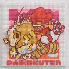Nanoblock Shibuya Pixel Art Artist Works: Chack Mori Relief