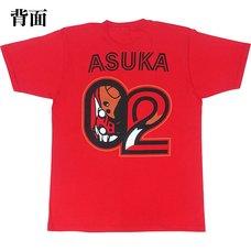EVA STORE TOKYO-01 Original Eva Colle Unit-02 T-Shirt
