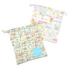 Rilakkuma/Sumikko Gurashi Drawstring Bags