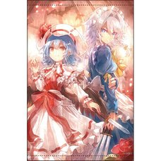 Touhou Project B2 Size Tapestry Vol. 14: Remilia & Sakuya