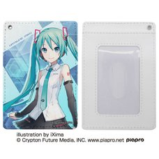 Hatsune Miku V4X Full-Color Pass Case