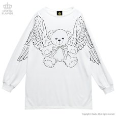 LISTEN FLAVOR Flying Teddy Bear Pullover