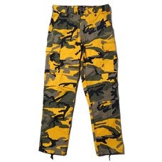 Radio Eva 622 NERV B.D.U. Yellow Cargo Pants