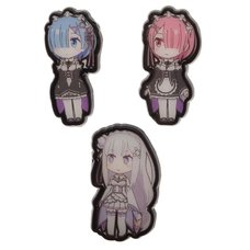 Re:Zero Lapel Pin Set