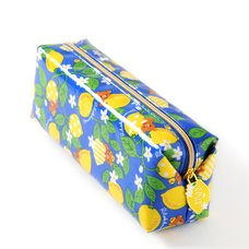 Rilakkuma A Basketful of Lemons Lemon & Leaf Pen Pouch
