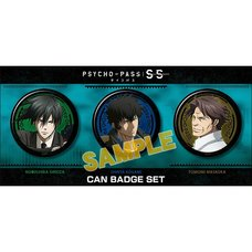 Psycho-Pass: Sinners of the System Pin Badge Set