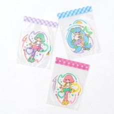 Magical Lip Girls Hologram Clear Stickers