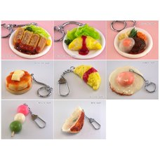 Food Sample Keychain Collection Vol. 2