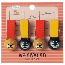 Wankoron Shiba Inu Clip Set