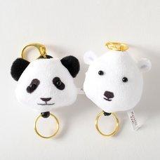 Marutto Reel Bear Keychains