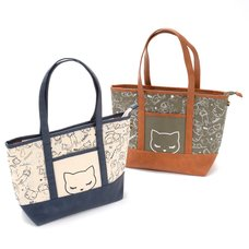 Sketch Pooh-chan Canvas Tote Bag