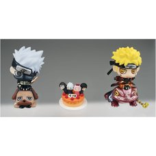 Petite Chara Naruto & Kakashi Orange Cake Set