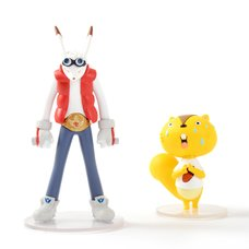 Ultra Detail Figure Summer Wars Kari Kenji & King Kazma