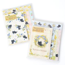 Kutusita Nyanko English Garden Letter Sets