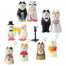 Concombre Happy Wedding Diorama Collection