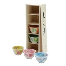 Soyokaze Mino Ware Teacup Gift Set