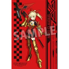 TYPE-MOON Racing Fate 15th Anniversary Edition Nero Claudius (Armor Ver.) Big Towel