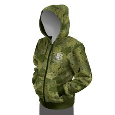 Monster Hunter: World Camo Full-Zip Hoodie