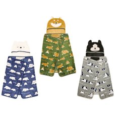 Nemu Nemu Animals Printed 5-Way Blanket Series