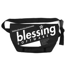 Saekano: How to Raise a Boring Girlfriend Flat Blessing Software Messenger Bag