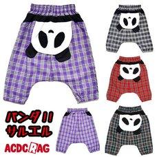ACDC RAG Upside Down Panda 3/4 Sarouel Pants
