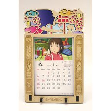 Spirited Away 2019 Stained Frame Calendar