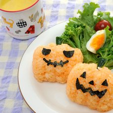 Halloween with Rice Balls! Set