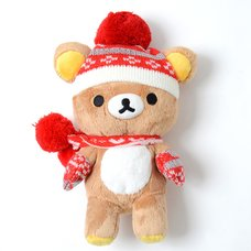 Rilakkuma Knit Heart Plush
