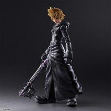 Play Arts Kai Kingdom Hearts II Roxas Organization XIII Ver.