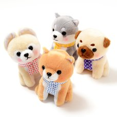 Mameshiba San Kyodai Tabi no Tochu Series 2 Dog Plush Collection (Standard)